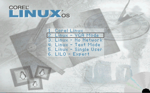 The one in which I kind of get Corel Linux 1.2 to work 21 years later.