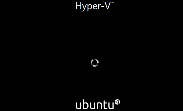How to test Ubuntu Focal Fossa on Hyper-V